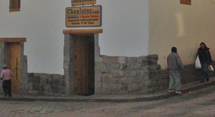 Local Chanintec - Cusco Perú